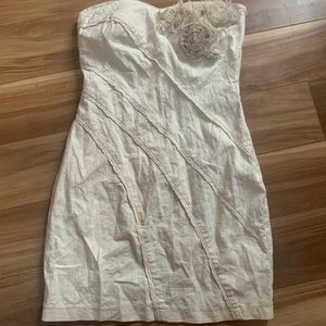 Do & be shabby chic chiffon flower fringe dress